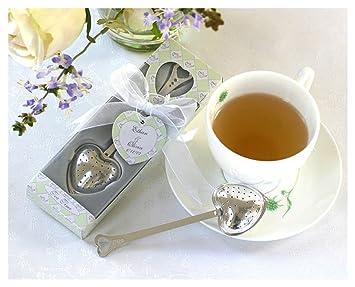 heart tea infuser baby shower gifts wedding bridal shower favors