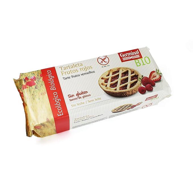 Tartaleta de frutos rojos sin gluten BIO - Germinal - 200g
