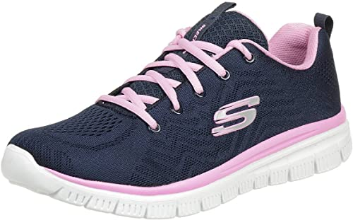 presión dosis Betsy Trotwood  Skechers Women's Graceful-get Connected Trainers: Amazon.co.uk: Shoes & Bags