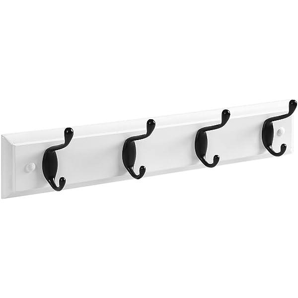 Amazon.com: GDQ - Perchero de pared con 5 ganchos de metal ...