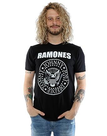 70fa10352468 Amazon.com: Ramones Men's Presidential Seal T-Shirt: Clothing
