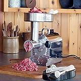 Weston 10-1201-W Pro Series #12 Meat Grinder-1 HP 1, Silver
