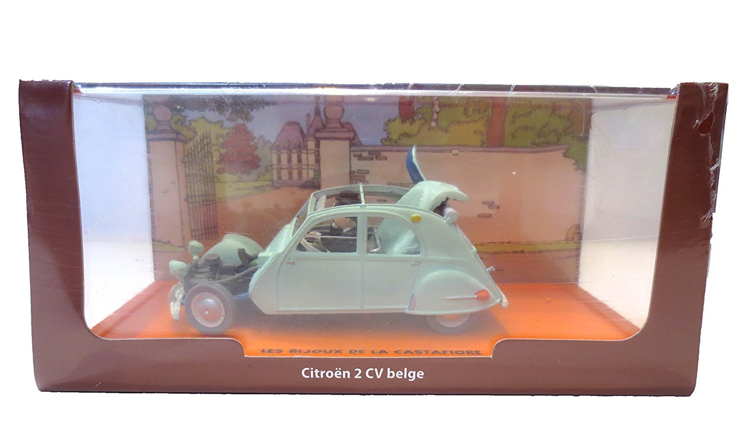 Tintin limited collection Model 2 CV Broken