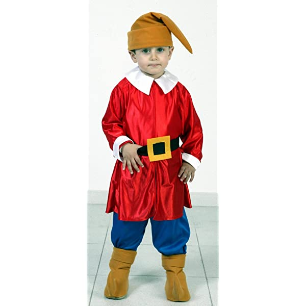 Disfraz de Enanito Rojo Infantil (3-4 años): Amazon.es: Juguetes y ...