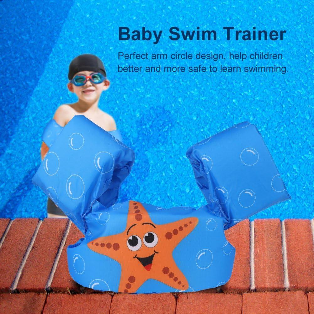 Baby Inflatable Swimming Ring Circle Tube Children Arm Floating Sleeves Swim Trainer Dilwe Baby Swimming Tube Starfish
