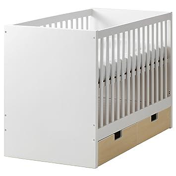 IKEA STUVA - Kinderbett mit Schubladen Birke: Amazon.de: Spielzeug