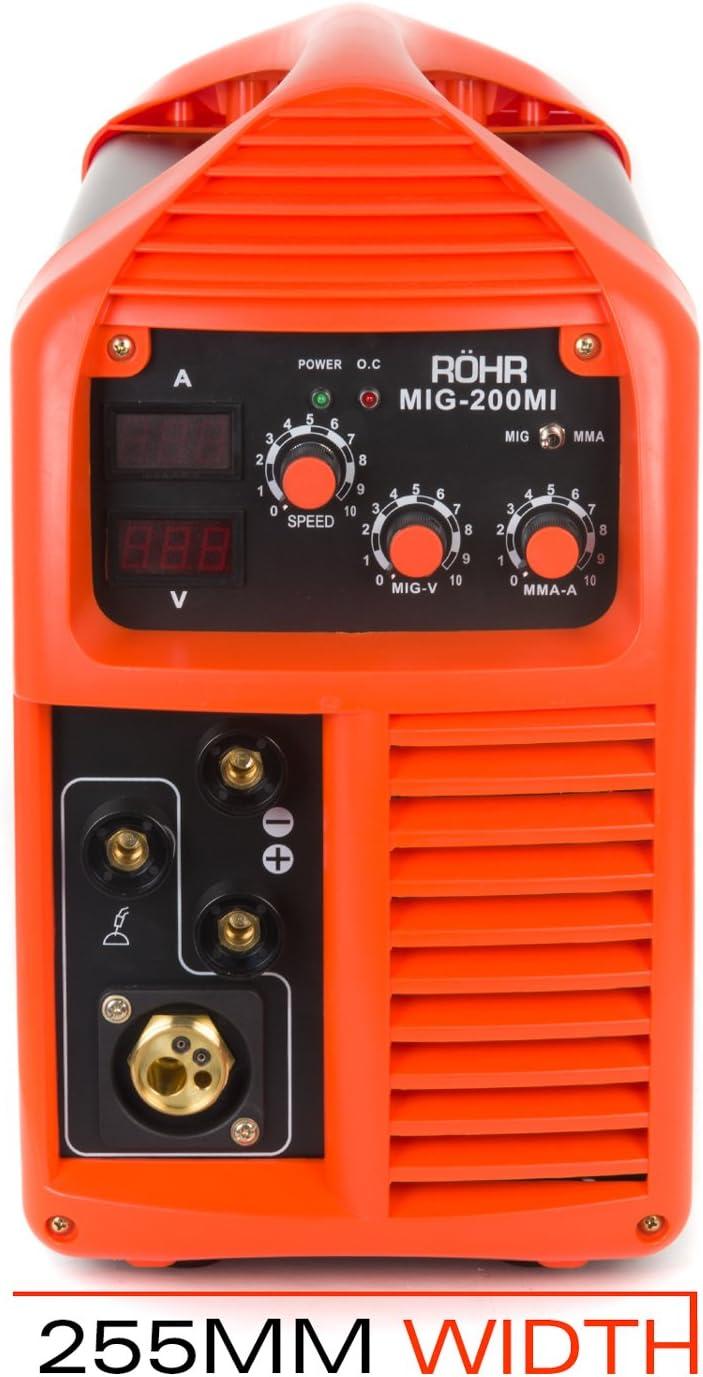 Soldador Inverter Röhr MIG-200MI