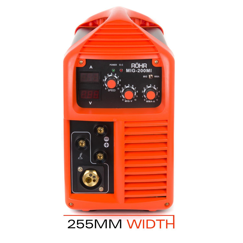 R?Hr Welder - En Inverter MMA Stick Mig IGBT 200?A (Mig de 200mi de 05): Amazon.es: Bricolaje y herramientas