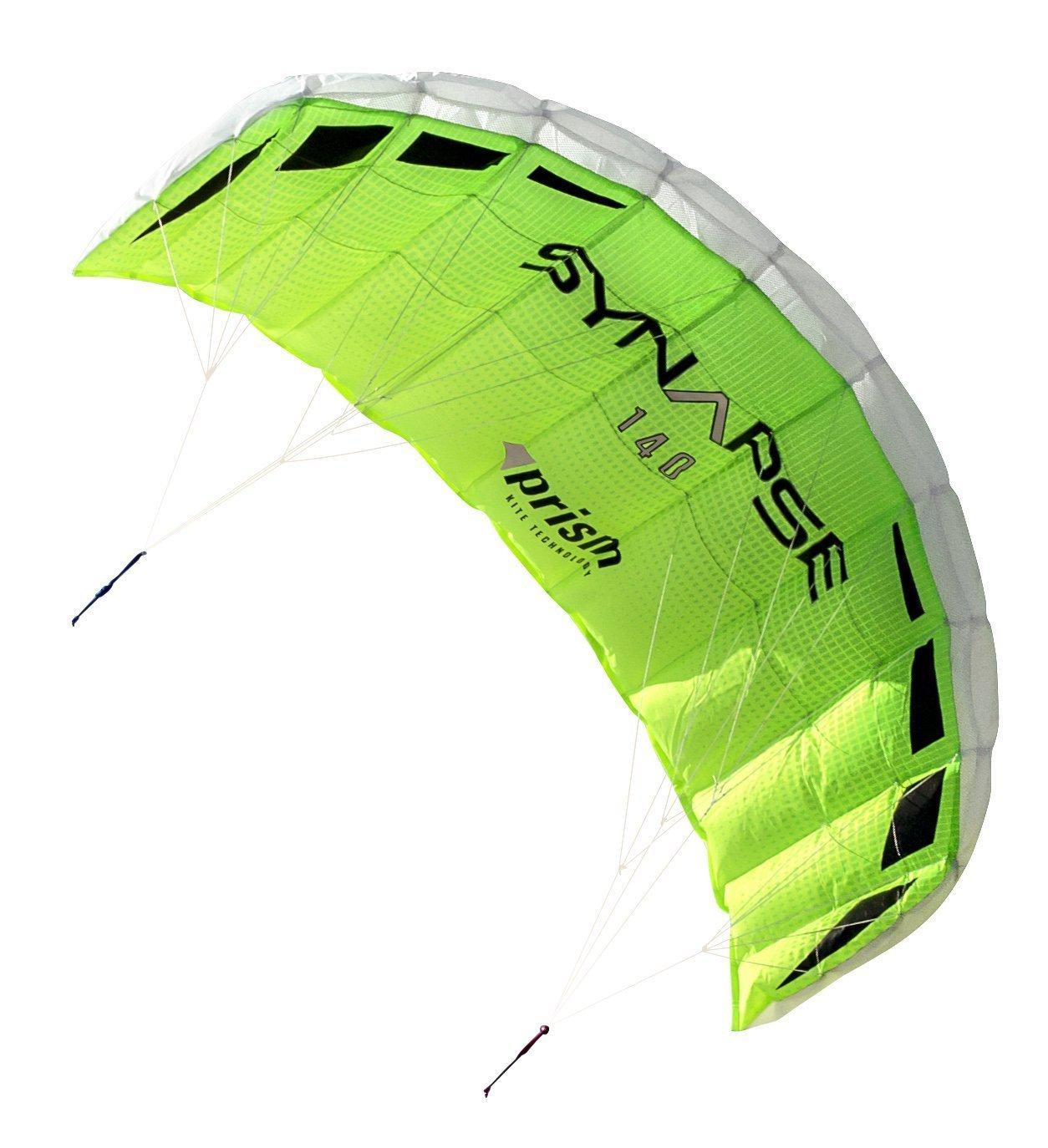 Prism Synapse Dual-line Parafoil Kite, 140 by Prism Kite Technology