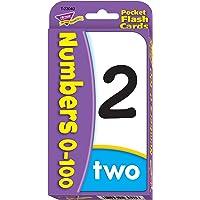 TREND enterprises, Inc. Numbers 0-100 Pocket Flash Cards