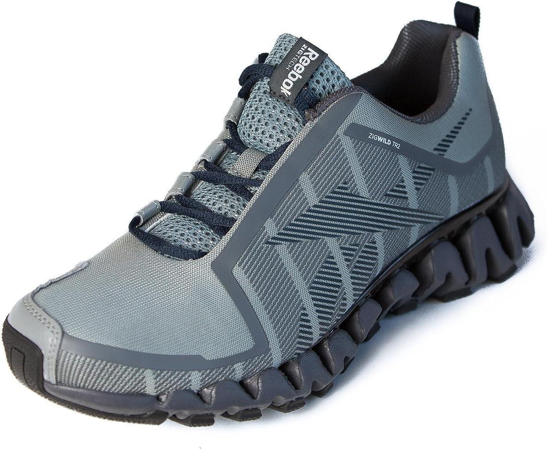 Reebok - ZigWild TR 2-M - Zapatillas para correr, para hombre, (Flat Grey/Ash Grey), 12 D(M) US: Amazon.es: Zapatos y complementos