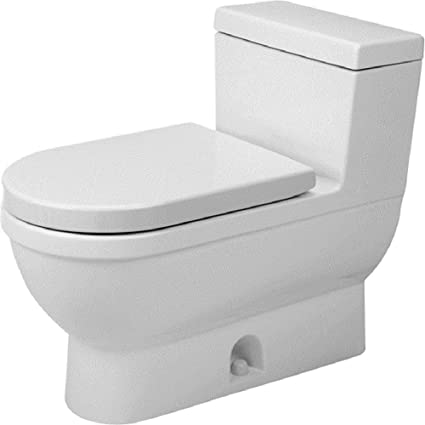 Duravit 2120010001 Toilet Starck 3, 1-Piece - - Amazon.com