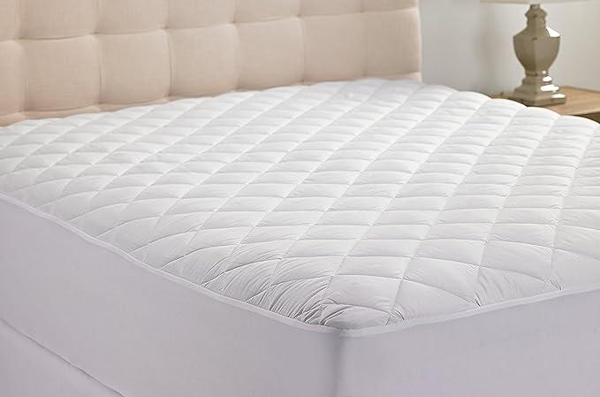 Hanna Kay Hipoalergénico Acolchado Stretch-to-fit colchón Almohadilla, 10 Año Warranty-Clyne colección (King): Amazon.es: Hogar