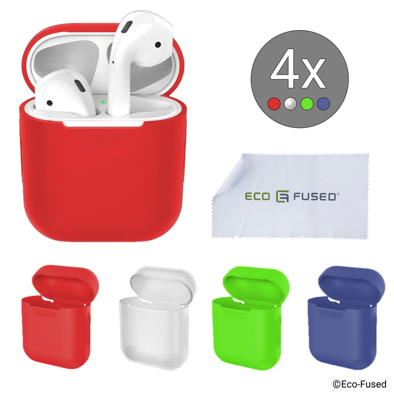 Cover Protettive Compatible con Case Apple AirPods – Confezione da 4  product image 35825b704e3