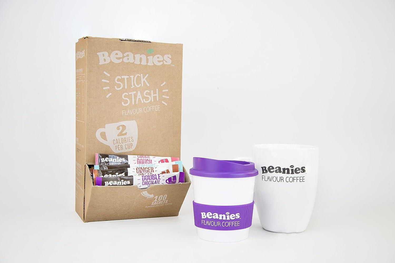 16ec86c8d11 Beanies Flavour Coffee 100 Stick Sachet Set (Mixed