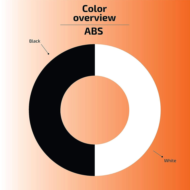1 kg filament pour imprimate 3D Basicfil ABS  1.75mm Blanc