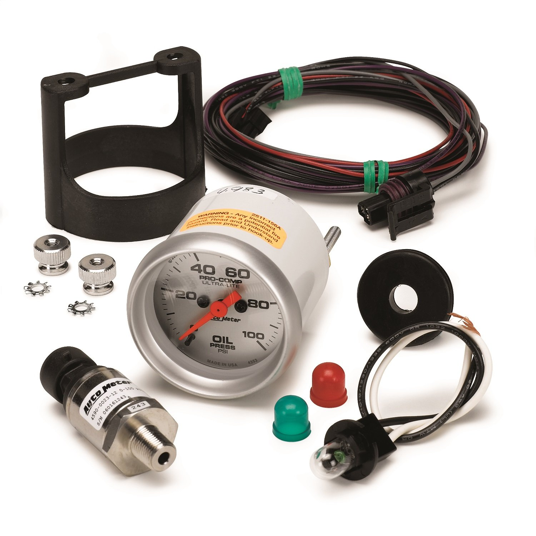 Auto Meter 4353 Ultra-Lite Electric Oil Pressure Gauge