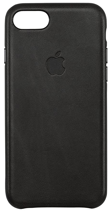 custodia pelle nera iphone 8
