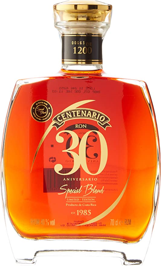 Centenario Ron 30 Aniversario Special Blend Limited Edition ...