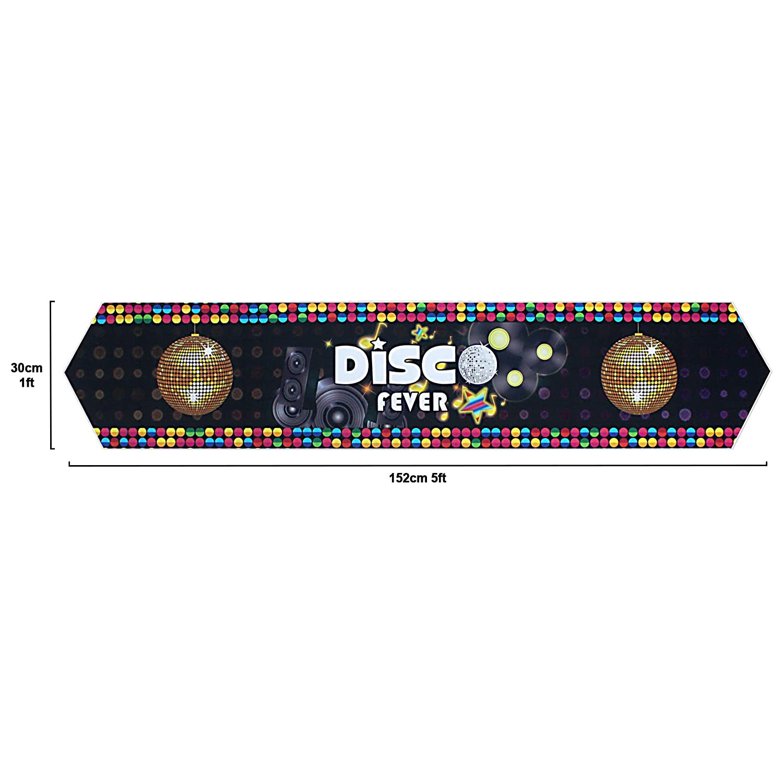 musykrafties Disco Party Supply Tisch Dekoration Szene Setter Tablecloth
