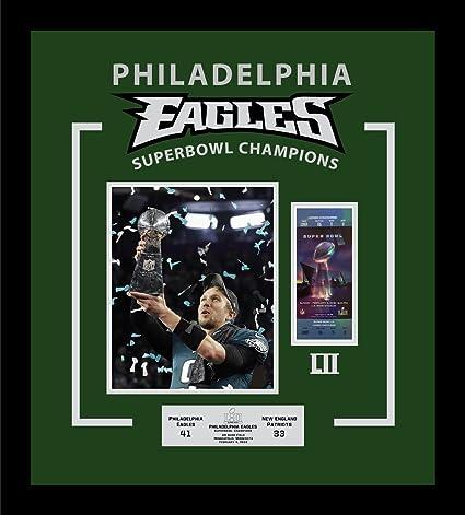 3ec77ebd1 Image Unavailable. Image not available for. Color  Framed Super Bowl 52 LII  Champions Philadelphia Eagles ...