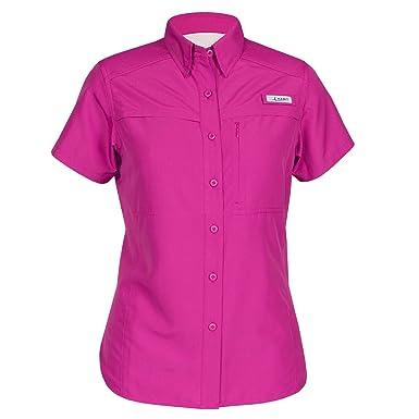 671c900a1dedf Habit Womens Short Sleeve River Shirt Festival Fuchsia (Small) at ...