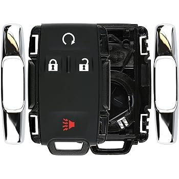 KeylessOption Keyless Entry Remote Control Car Key Fob Replacement for Tahoe Yukon Suburban M3N-32337100