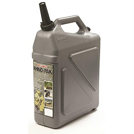 Camping Water Container >> Amazon Com Reliance Rhino Pak Heavy Duty Water Container Grey
