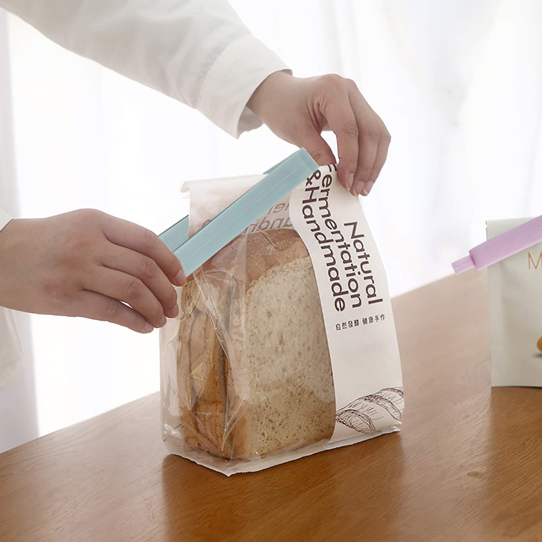 FT-SHOP Pinzas de Plástico 36 Unids Cerrar Bolsas Colorear Clips de Sellado para Alimentos Aperitivos Cocina: Amazon.es: Hogar
