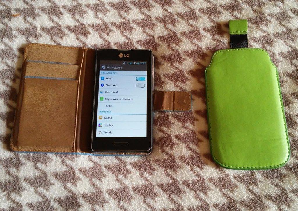 Smartphone LG ELECTRONICS OPTIMUS L5 II GRIS 4GO