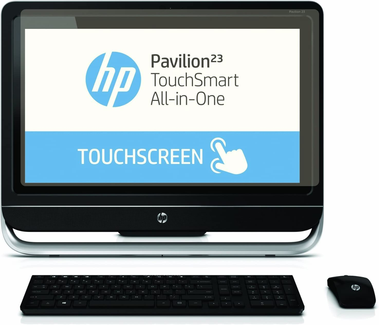 """Set of 2 Screen Protector for HP 21.5/"""" Non touch Monitor High Clarity//Anti Glare"""
