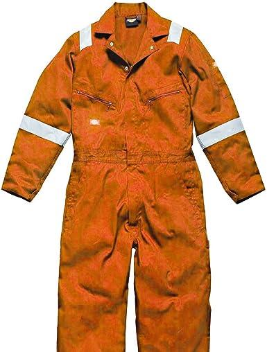 Dickies Homme Workwear autoroute Hi Vis Sécurité Veste Orange SA22045O
