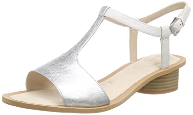 12f0a9e51 Clarks Women s Sandcastle Ice Le White Fashion Sandals - 9 UK India (43 EU