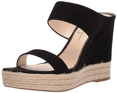 f3c15e718c7f Amazon.com  Jessica Simpson Women s Siera Wedge Sandal  Shoes