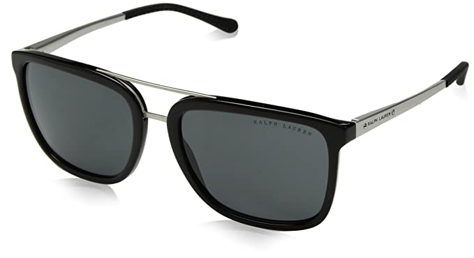 RALPH LAUREN 0RL8164 Gafas de sol, Black, 58 para Hombre ...
