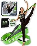 Ballet Stretch Band by EverStretch: Premium Stretching Equipment for Dancers, Ballerinas, Cheer, Gymnastics, Pilates & Yoga. Dance Stretcher for Superior Hands-Free Flexibility Training