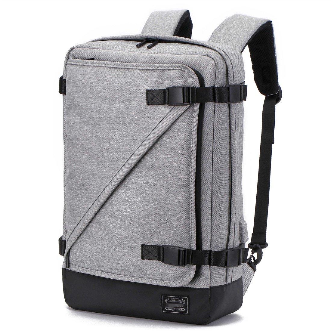 KEYNEW Convertible Biefcase Laptop Backpack Shoulder Daypack USB Charging for Work School Trip, 3 Carrying Way EL117-118