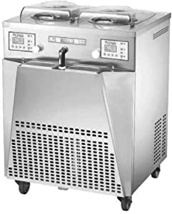 Carpigiani BG Italy commercial gelato ice cream churning vertical batch freezer dual pot INST21