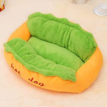 635 Cama para Perros Hermosa Meng Salchichas Puede ser Lavable cálido Nido Mascota Gato Perro colchón 59 * 50 * 23 cm: Amazon.es: Hogar