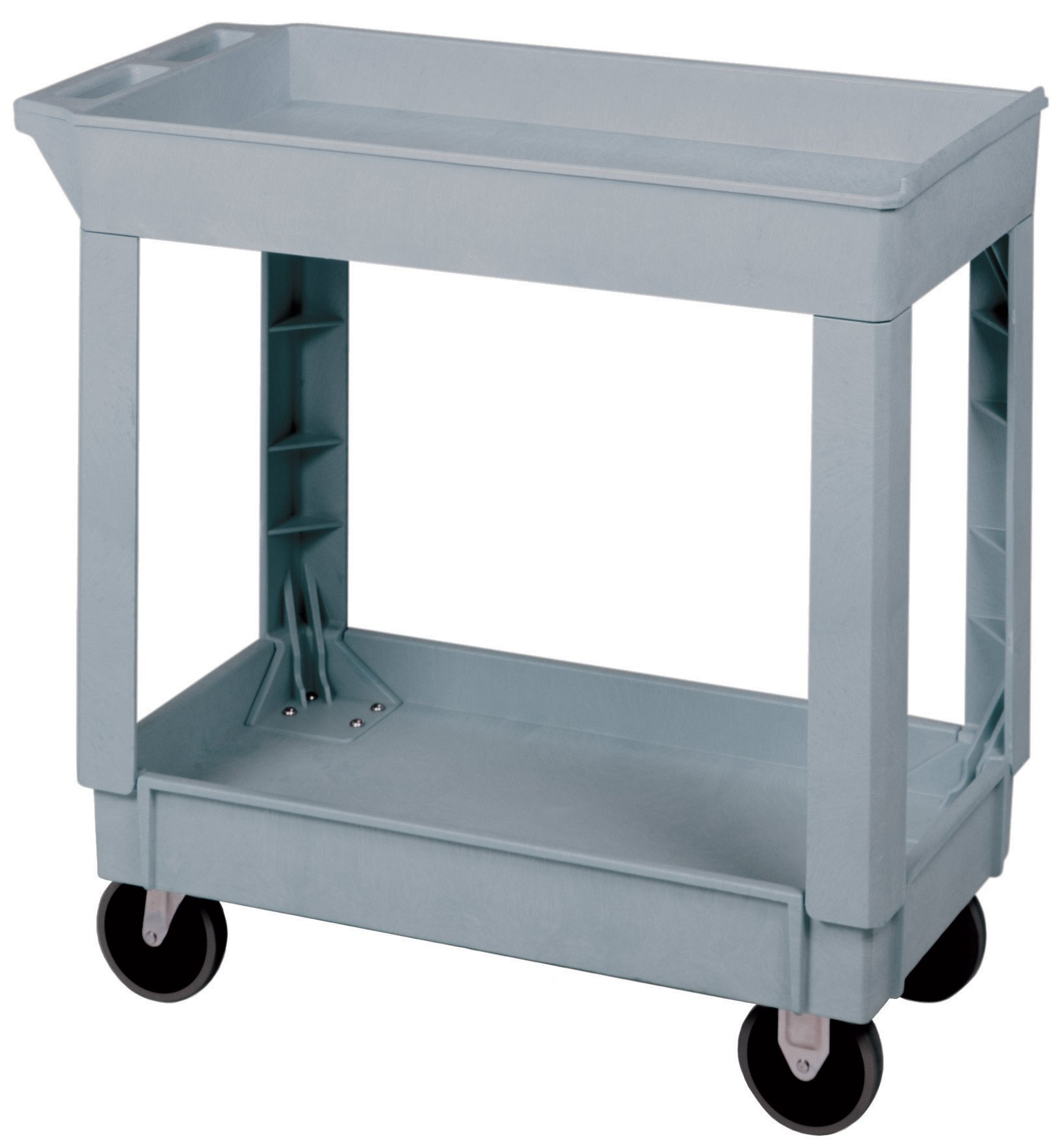 Continental Commercial All-Purpose Lab Cart, 34-3/8'' x 17-1/2'' x 33'' Size, 5'' Rubber Casters by Continental Commercial (Image #1)