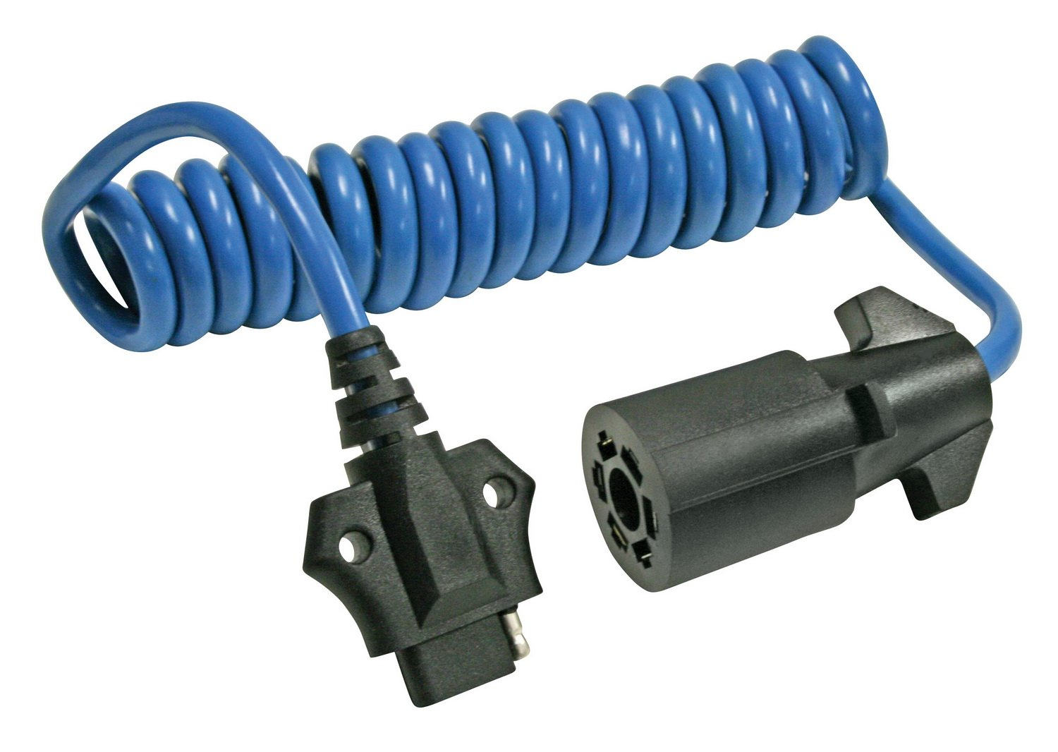 Reese Towpower 74686 Coiled 7-Way Blade to 4-Flat Adapter by Reese Towpower