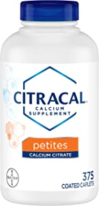 Citracal Petites 400 Mg Calcium Citrate with 500 Iu Vitamin D3, 375 Count