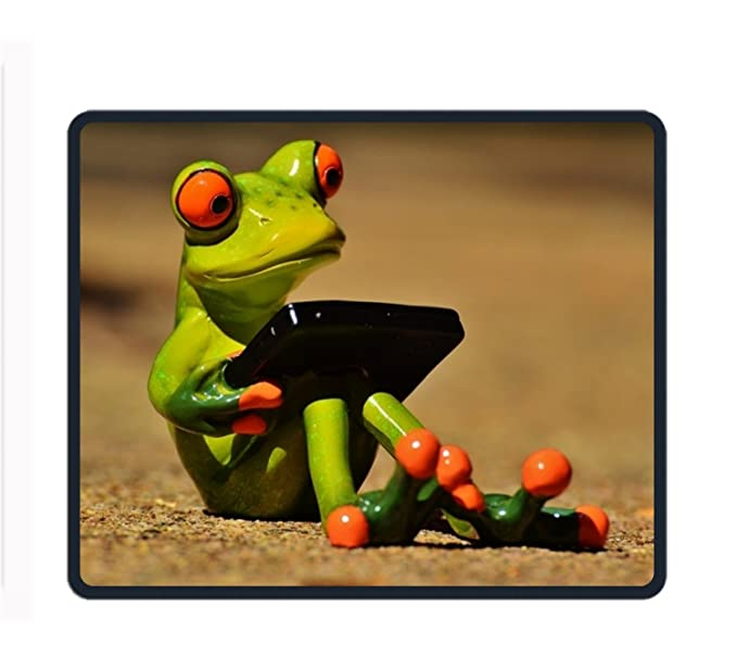 Amazon.com : Frog Computer Funny Mouse Pad Game Office Thicker Mouse ...