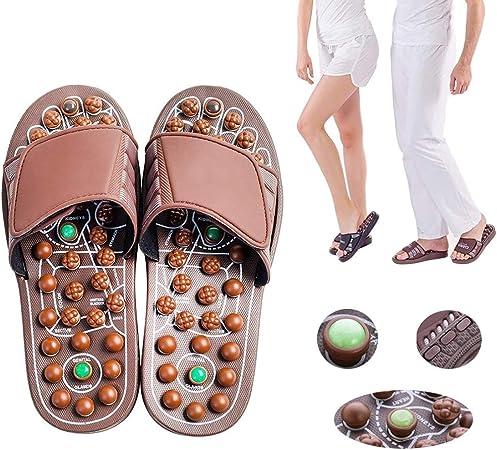 Pantofole Per Digitopressione Per Unisex 1 Paio di Massaggio Per Piedi