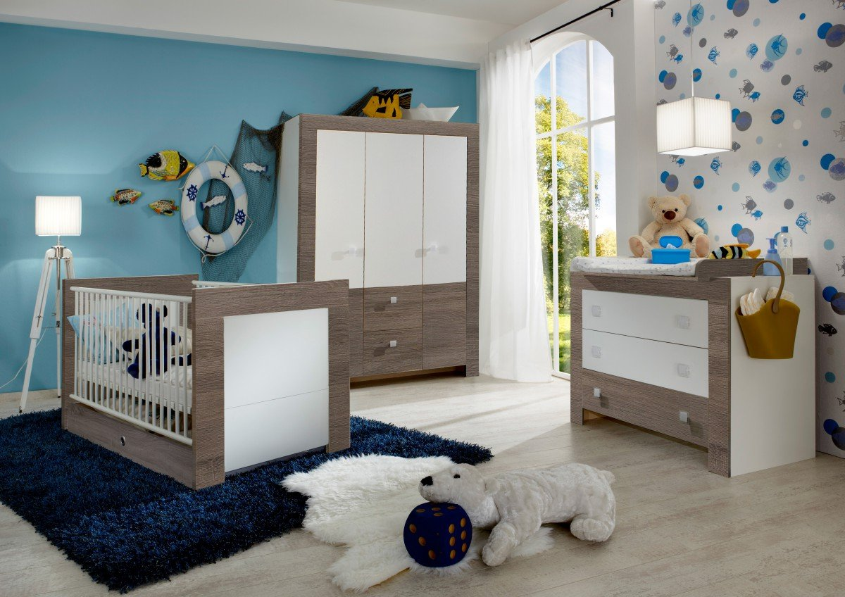 Dreams4home Babyzimmer Louis Babyzimmerkombination Babyzimmer