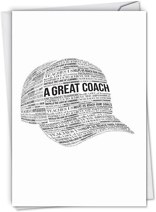 Un gran entrenador: tarjeta de agradecimiento de todos los ...