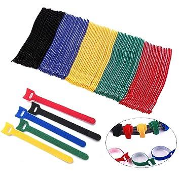 Popular Brand 40 Klettbänder Kabelklett 200 X 20 Mm Gelb Kabel Klett Band Kabelbinder Klettban Sporting Goods Cables & Interconnects