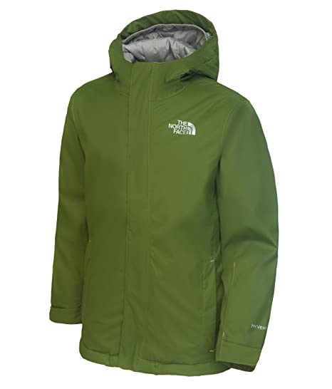 The North Face Quest Youth Snow Jacket Rocket Red