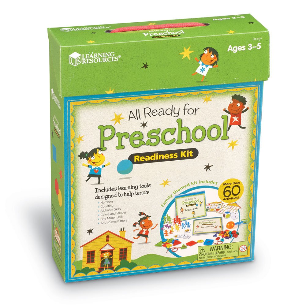Amazon.com: Learning Resources LER3477 All Ready For Preschool ...