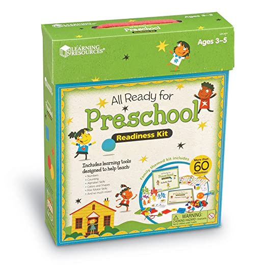 Amazon.com : All Ready For Preschool Readiness Kit : Office Products